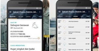 aplikasi perkiraan cuaca accuweather