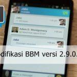 Download Kumpulan MOD BBM versi 2.9.0.51 Terbaru